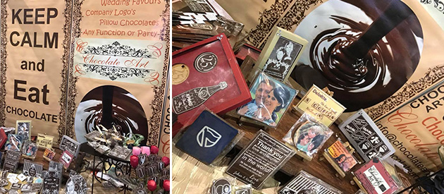 Chocolate Art, personalised, embossed, printed Belgian, Couverture, chocolate, Corporate, Hospitality and Wedding industry, Gauteng, unique wedding favors