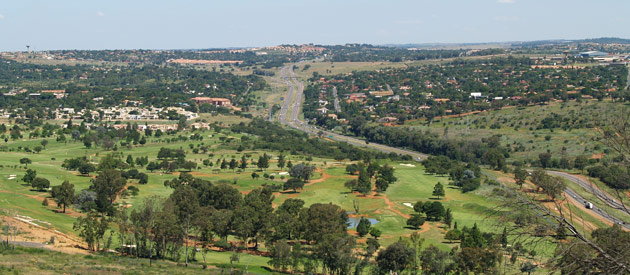 Westonaria, in the west of Gauteng province of South Africa.